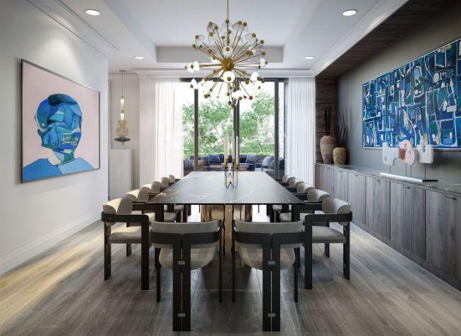 luxury long table