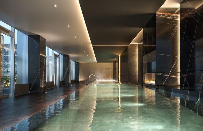 Yorkville: pool amenities