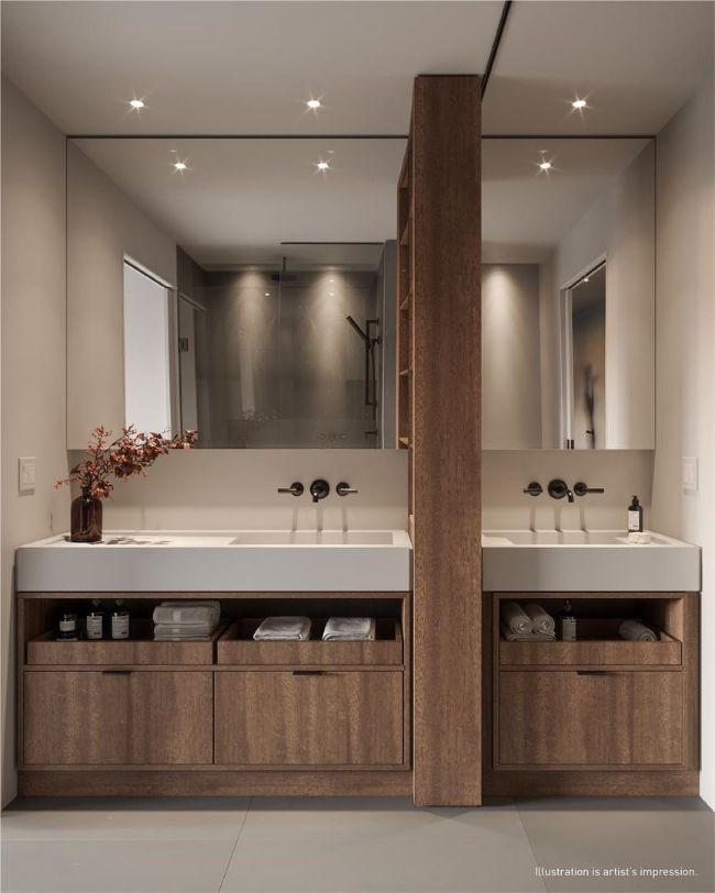 55 Charles: bathroom