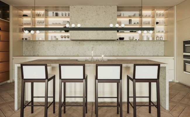 kitchen/island table