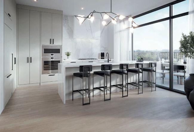 The Rhodes luxury kitchen
