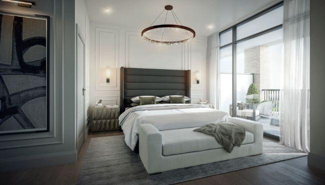 The Rhodes bedroom